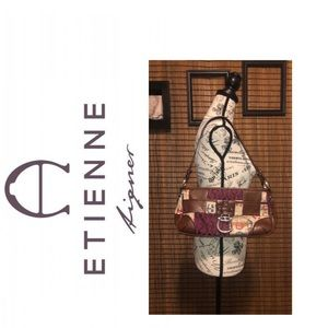 ⭐️Etienne Aigner Patchwork and Leather Purse⭐️